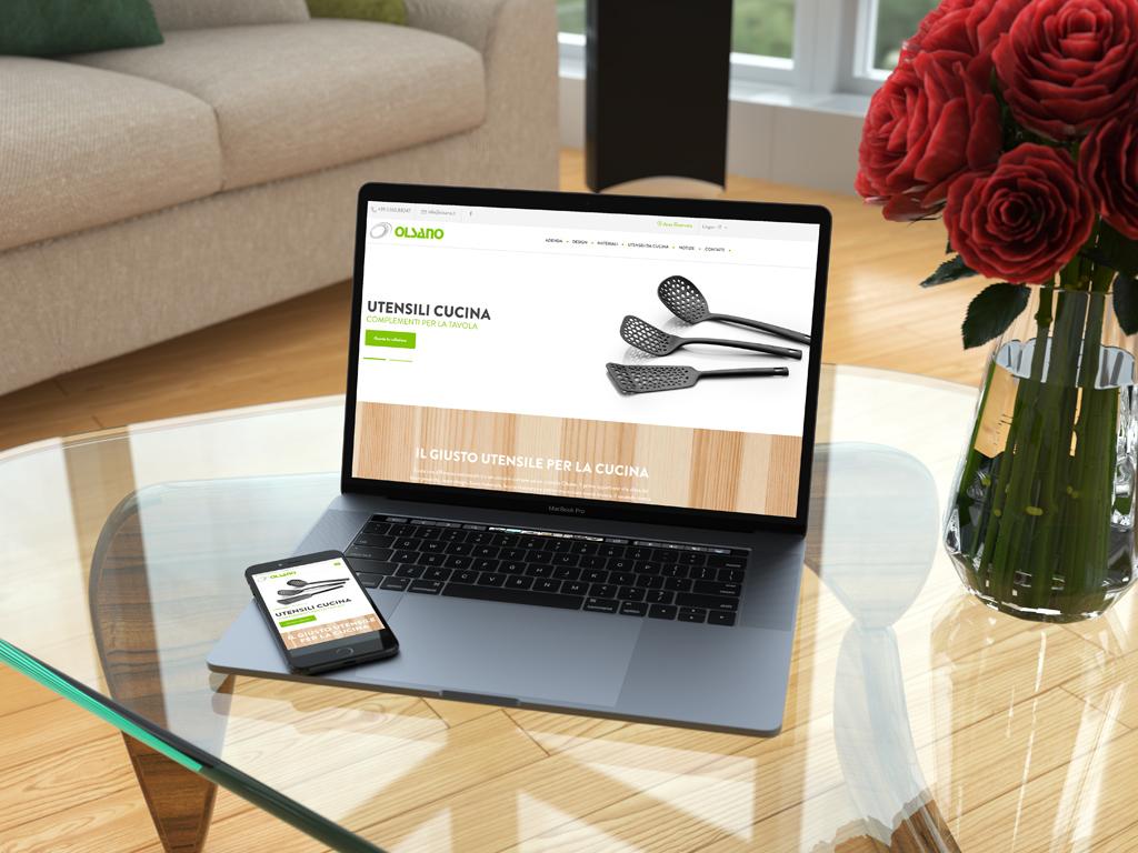 olsano new web site